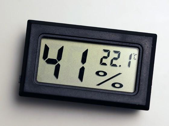 Clip-In Thermo- und Hygrometer