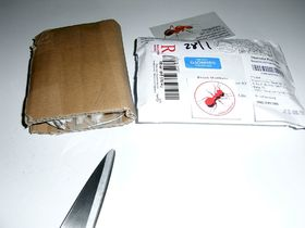 Paket aus Ungarn