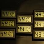 Clip-In Thermometer & Hygrometer ohne Fühler