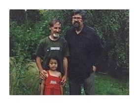 Gerhard Kalytta (und seine Tochter) zusammen mit Ulrich Maschwitz